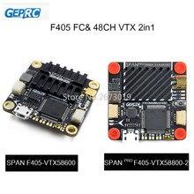 GEPRC תוחלת F405 טיסה בקר 48CH VTX AIO FC לוח 30.5*30.5mm OMNIBUSF4SD Fireware עבור FPV מירוץ Drone