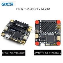 GEPRC PORTATA di F405 Controllore di Volo 48CH VTX AIO FC Consiglio 30.5*30.5mm OMNIBUSF4SD Fireware per FPV Da Corsa Drone