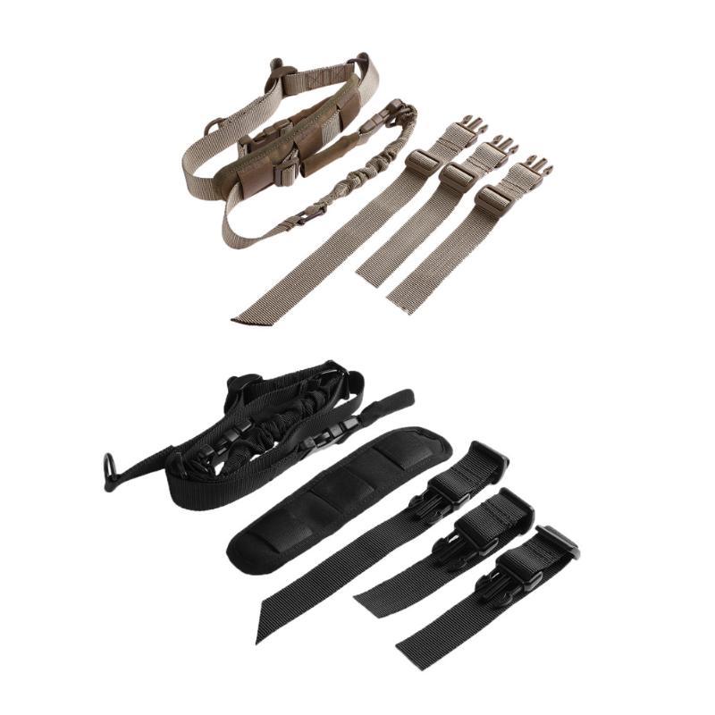 Nylon Shoulder Strap With Fastener Outdoor Multi-functional Adjustable Shoulder Belt Sling for Bag Pouch Hunting Accessories