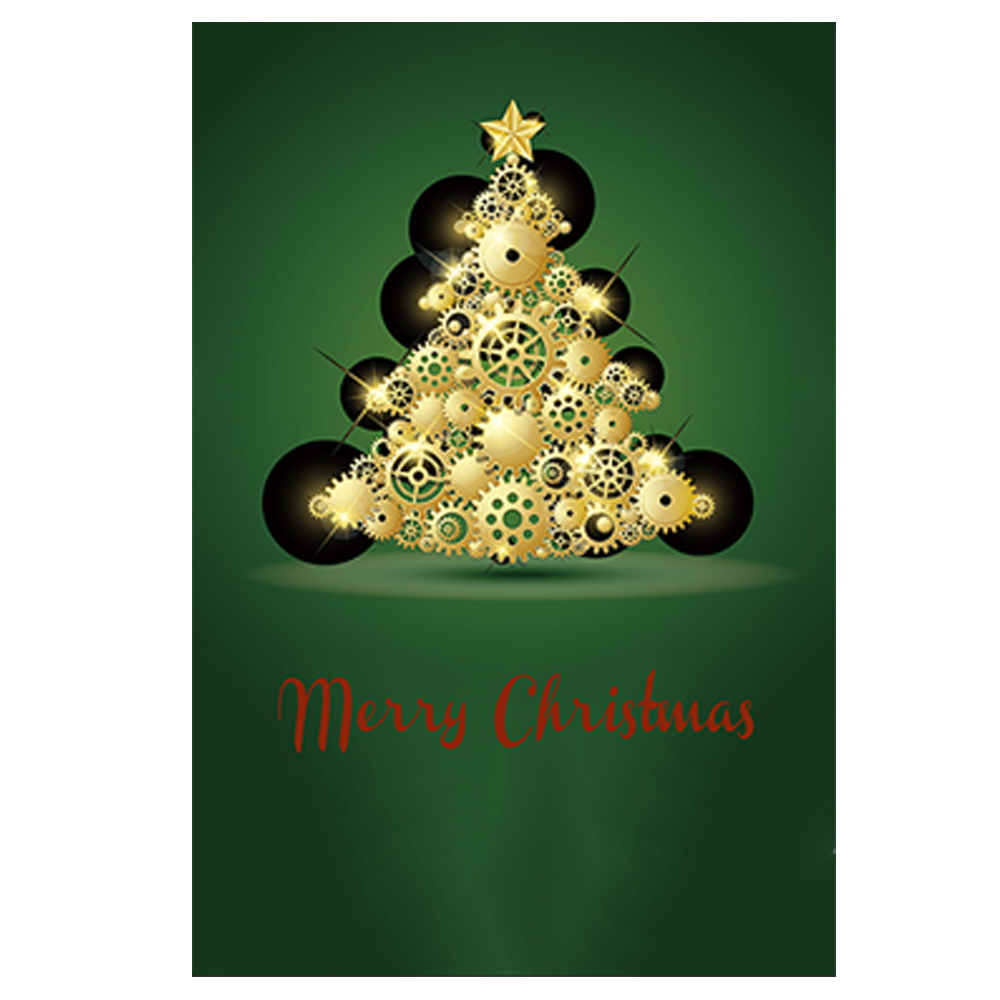 aliexpresscom buy christmas tree decorative outdoor and indoor flags 100 polyester merry christmas garden flags banner home yard from reliable garden - Decorative Christmas Flags