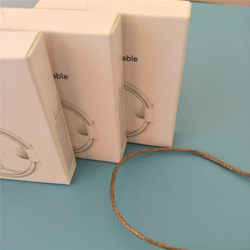 100Pcs/lot 3.0mm 1m/3ft AAAA Quality Metal Braided USB Data Sync Charger Cable for iPhone X 8 7 6s 6 plus 5s 5c with retail box-in Phone Accessory Bundles & Sets from Cellphones & Telecommunications    1