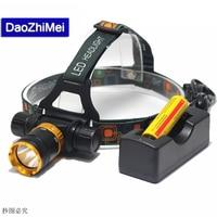 Underwater Diving Headlight 3800 Lumen XML T6 Headlamp LED Waterproof Swimming Dive Head Light Torch Lamp Lighting flashlight