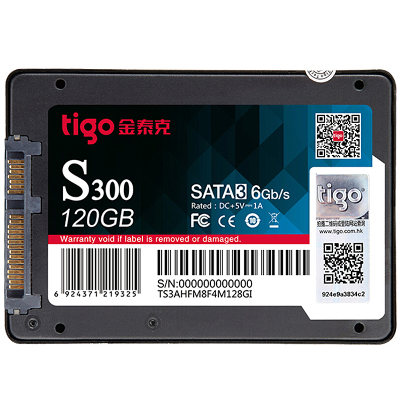 Tigo Brand SSD 120gb SATA 3 Hard Drive 2.5 inch Internal Solid State Drive for PC Desktop Notebook HD 120 GB ...