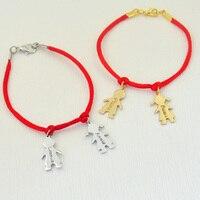Benutzerdefinierte legierung paare armband, namensgravur armband, name mädchen und jungen armband