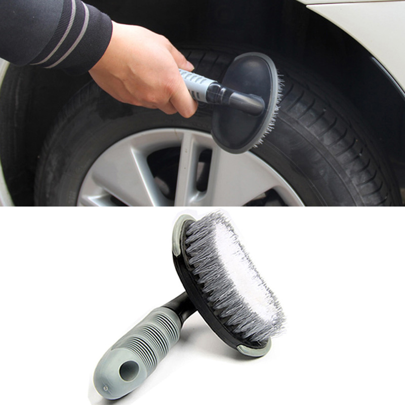 car tire Washing Brush for Renault Koleos Clio Scenic Megane Duster Sandero Captur Twingo AUTO Accessories Car Care