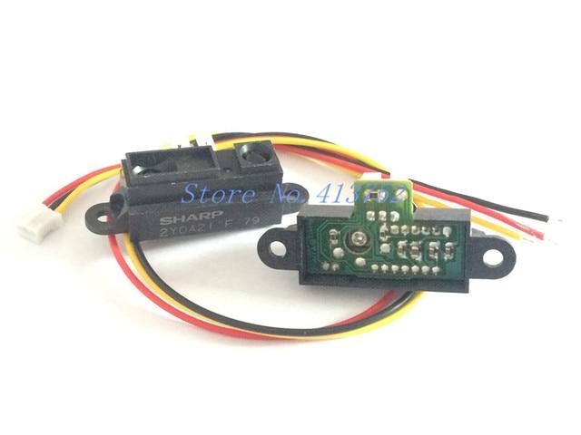 GP2Y0A21YK0F 100% NEW 2Y0A21 10-80cm Infrared distance sensor (INCLUDING WIRES )