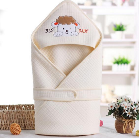 2016 hot New Arrival Newborn Sleeveless Baby Sleeping Bag , Embroidery Cartoon Sleepsacks 100% Cotton Kids Sleeping Bag 0-2Years