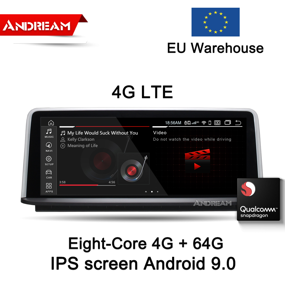 Navigation-Head-Unit F31 Android 9.0 4G BMW for Series/3-f30/F31/.. F36 GPS Idrive Eight-Core