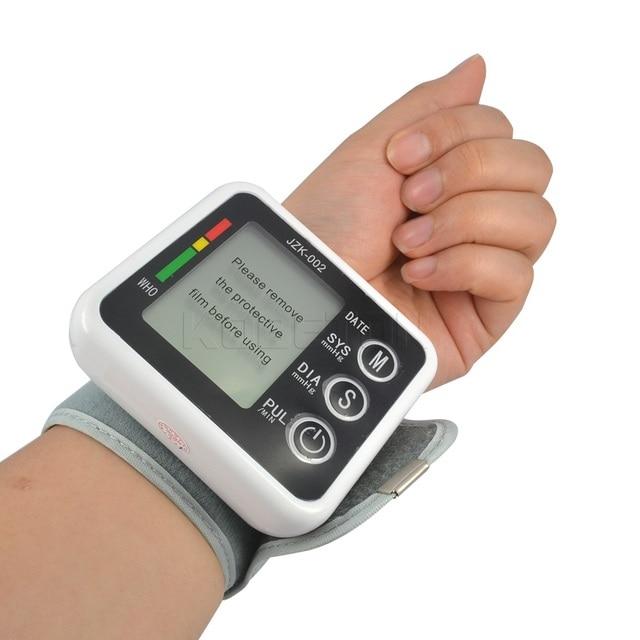 Здравоохранение германия чип Авто наручные цифровой монитор артериального давления тонометр метр Сфигмоманометр для измерения и скорости импульса