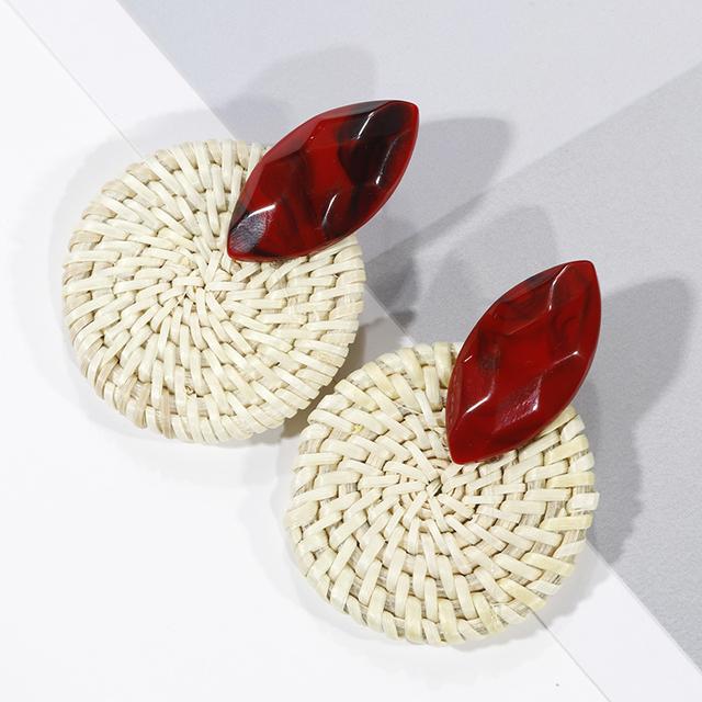 Handmade Wooden New Fashion Earrings