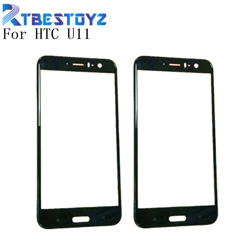 """RTBESTOYZ Original 5.5"""" Front Glass Touch Screen LCD Outer Panel Lens For HTC U11 U 11 U 3w W 1w Mobile Phone Touch Panel     - title="""