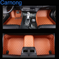 Carnong car floor mat leather fit for Chevrolet cruz left wheel driving pls remark year in order car interior accessory mat