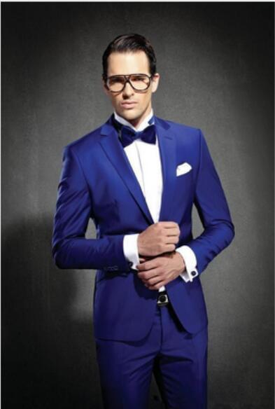 Costume mariage homme blanc et bleu - la pijson pigram ecf4d003304