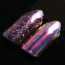 BORN PRETTY 0.2g Chameleon Flakes Powder Holo Laser Nail Sequins Holographic Glitter Paillette Manicure Nail Art Decoration