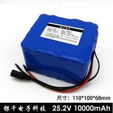 Batterie lithium-ion 6S5P 18650 pour vélo électrique, 24 V, 10 Ah