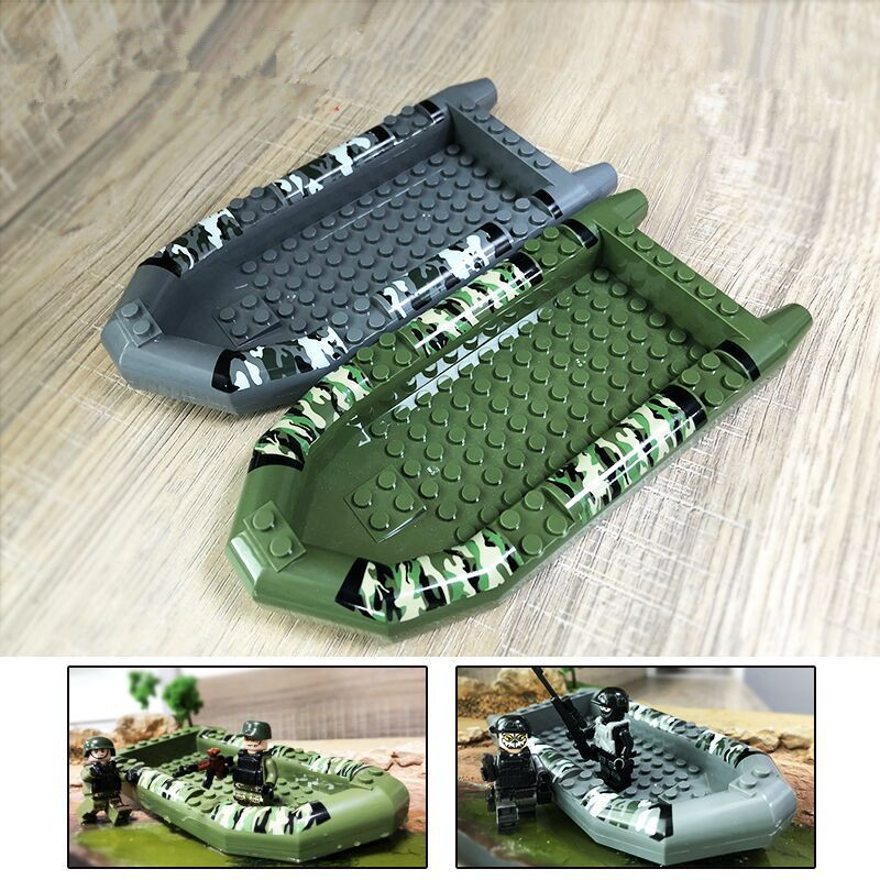 Model Building Kits Reasonable 2pcs/lot Compatible Legoings Militar Accessories Boat Juguetes Brinquedos For Boys Model Ship For Toddler Toys 1 Year Old Model Building