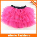 Falda Etek Solid Free Shipping! New Arrival Girls Skirts Kids Baby Fashion Tutu Skirt Childrens Pettiskirt Design Hot Color