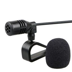 Image 3 - Auto Audio Mikrofon 3,5mm Clip Jack Stecker Mic Stereo Mini Wired Externe Mikrofon Für Auto DVD Radio 3m lange Profis
