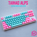 Taihao alps miami tomcat abs двойной выстрел keycaps для diy игровая механическая клавиатура для alps переключатели apc matias switches
