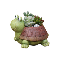 tortoise animals Turtles Silicone flower pots mold handmade Turtle Cement molds silica gel concrete moulds  tortoise mould