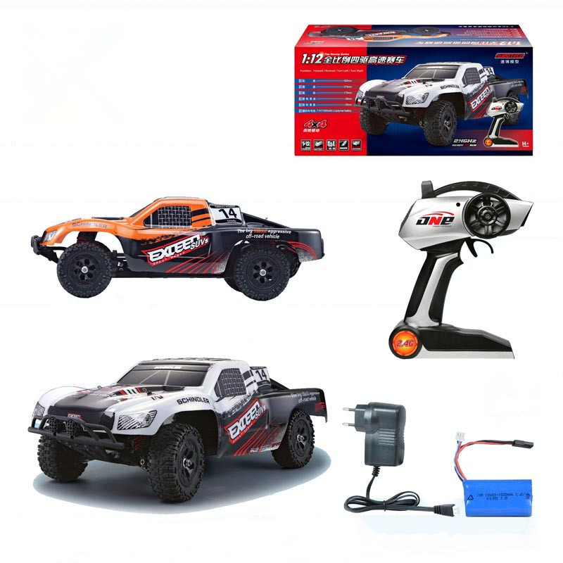 High quality RC CAR 1:12 High Speed Car Ratio Control 2.4 GHz 4x4 Driving Car Assebled Buggy Vehicle Toy VS A979/A959/L202 1 12 high speed car ratio control 2 4 ghz all wheel drive model 4x4 driving car assebled buggy vehicle toy