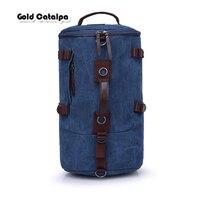 Multi Functional Men Detachable Backpack Male Korean Canvas Bag Student Sports Backpacks Outdoor Travel Bag