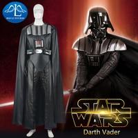 MANLUYUNXIAO Star Wars Cosplay Costume Darth Vader Costume Adult Mens Rompers Darth Vader Cosplay For Men Custom Made