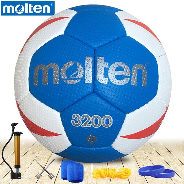 8323ad82a6e original molten handball H3X3200 NEW Brand High Quality Genuine Molten PU  Material Official Size 3 handball for men s training