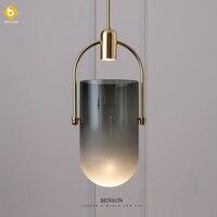 북유럽 aplomb 펜 던 트 조명 현대 led 펜 던 트 램프 화이트 hanglamp 알루미늄 luminaria 거실 주방 전등