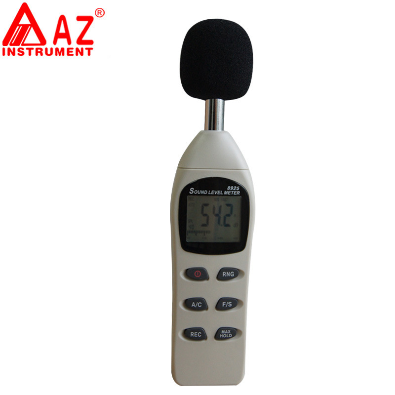 AZ8925 Digital Sound Level Meter portable precision noise detector decibel ambient noise tester noise level measurementAZ8925 Digital Sound Level Meter portable precision noise detector decibel ambient noise tester noise level measurement