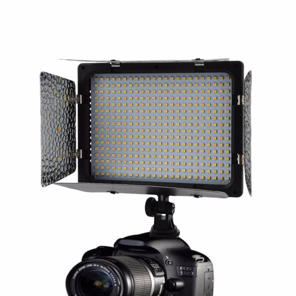 WS-368 Photographic Lamp LED Lamp Video Light Photo Lighting On Camera 23W 6300K For Sony NP-F Series Camcorder CameraWS-368 Photographic Lamp LED Lamp Video Light Photo Lighting On Camera 23W 6300K For Sony NP-F Series Camcorder Camera