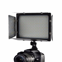 WS 368 Photographic Lamp LED Lamp Video Light Photo Lighting On Camera 23W 6300K For Sony NP F Series Camcorder Camera