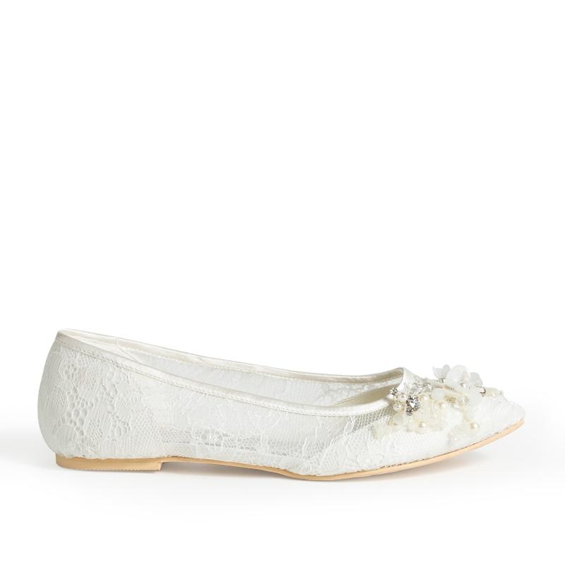 Cuentas Baile Zapatos Novia Hecho Perla De Mujer Mano Las Eshemg Fiesta A Blanco Señoras vqtwx4qE