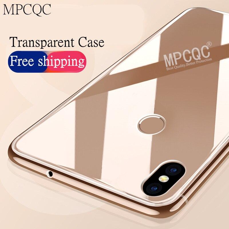 Ultra Thin Clear Soft Gel TPU Back Case for Xiaomi Mi 8 Lite Anti-knock phone cases For Xiaomi Mi 8 Lite Silicone Cover Cases