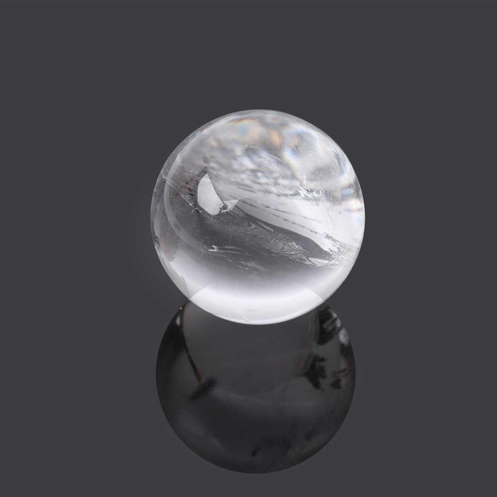 Moda DIY Natural Rosa Ametista Quartzo Pedra Cura Esfera Bola De Cristal De Fluorita Pedra Preciosa Decoração Da Sua Casa