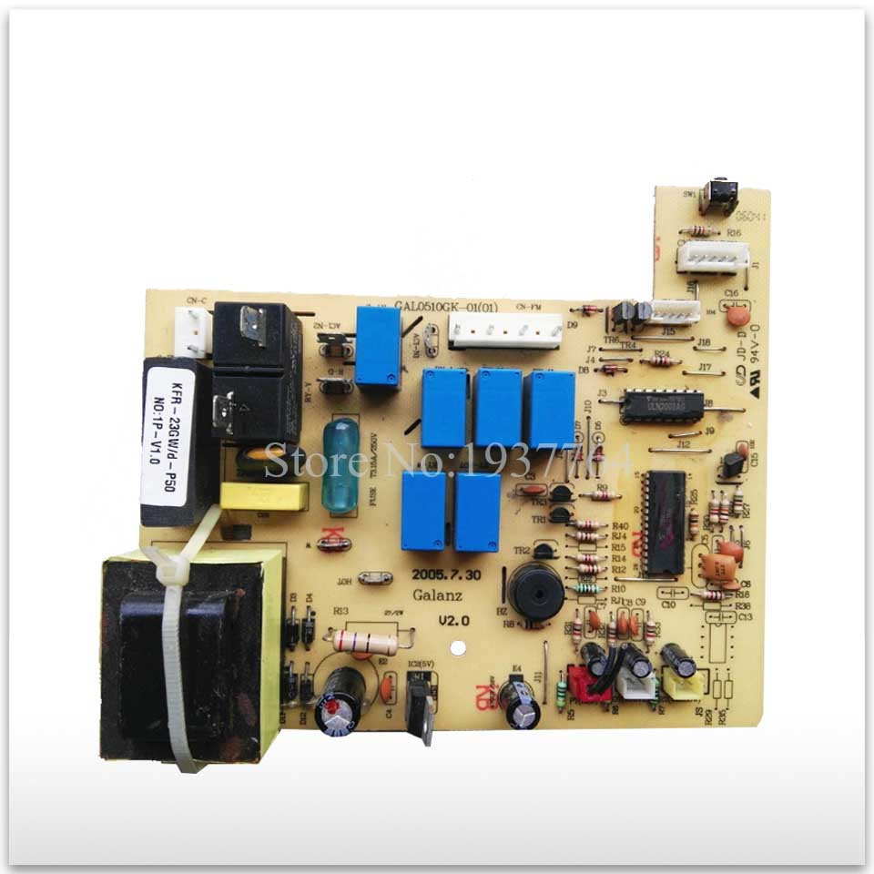 95% new & original for Galanz air conditioning Computer board control board GAL0510GK-01 good working холодильник galanz bcd 217t