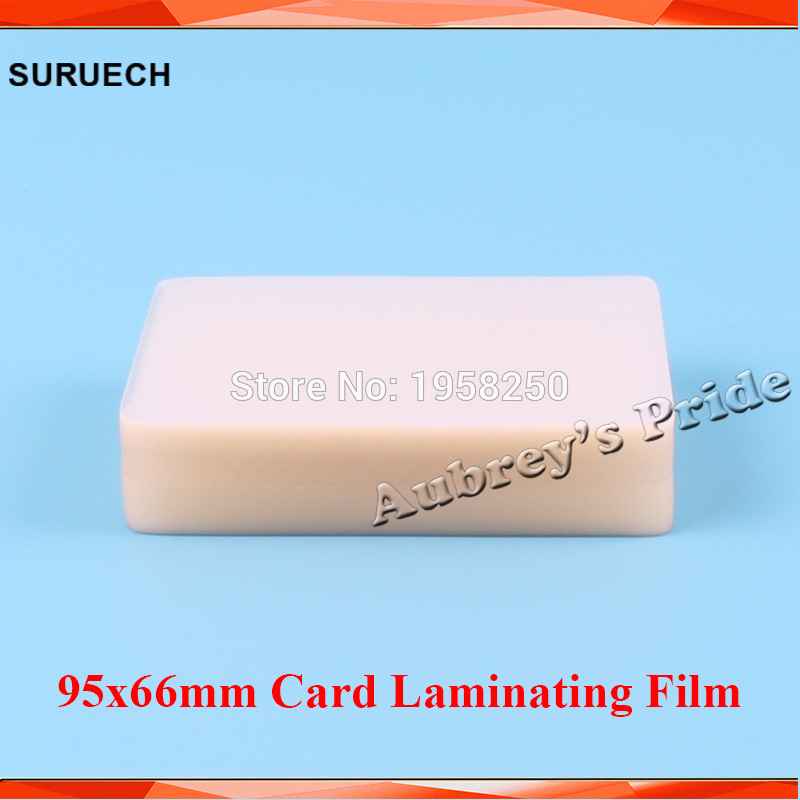 Film Laminating-Pouch Name-Card 2mil For PVC 100pcs Clear Protecting 95x66mm 95x66mm