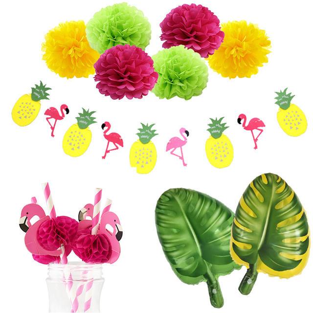Tropical Hawaiian Party Decorations