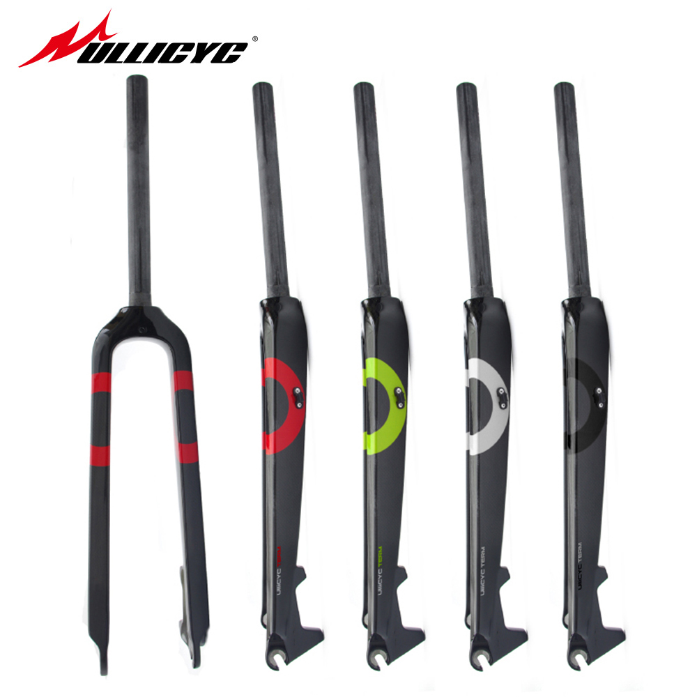 Ullicyc carbon fiber road bike fork/carbon fibre forks/carbon fork road bike forks 28.6 mm 26/27.5 inch free shipping гель д унитаза sarma лимон 750мл