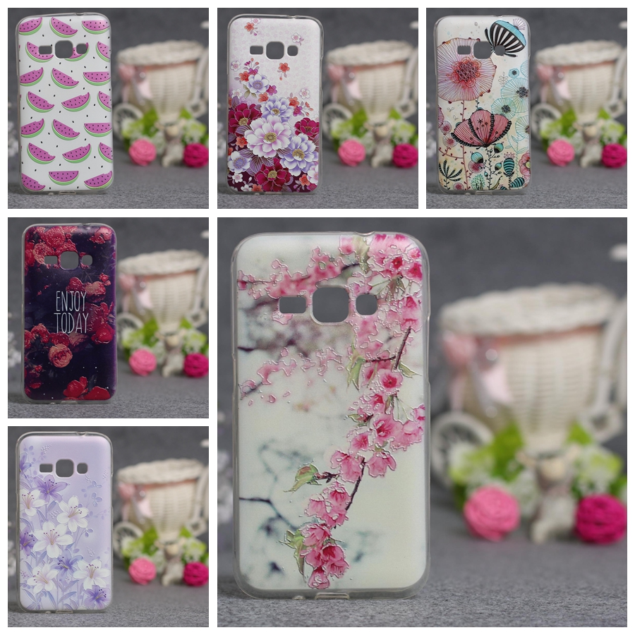 2016 j1 Phone Case For Samsung Galaxy J1 2016 J120 J120F Case Soft TPU Silicon Back Cover For Samsung j1 2016 Cover Cases Coque
