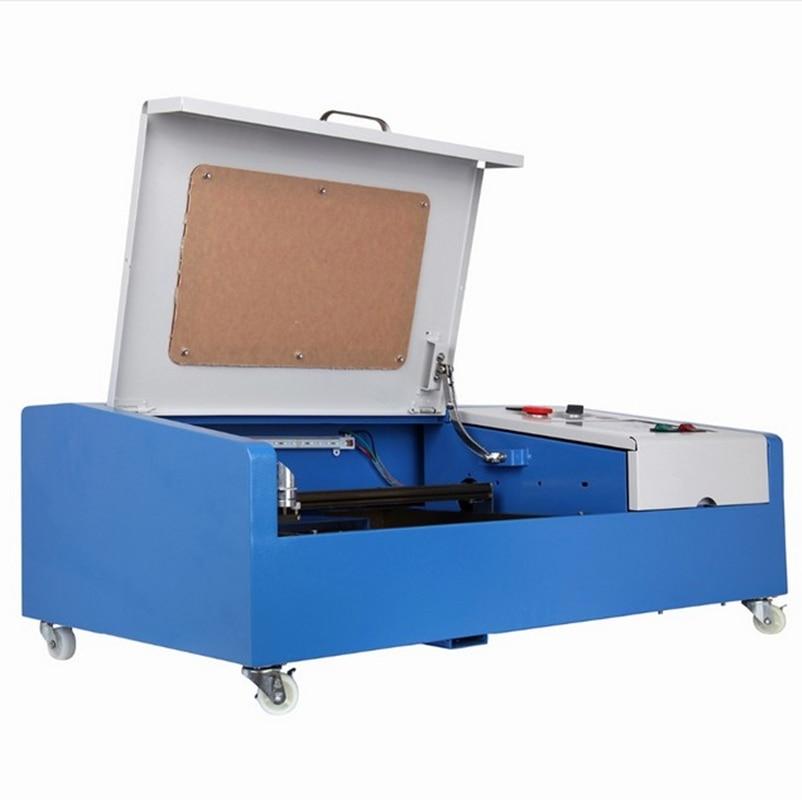 Pequeno Laser Engraving Máquina De Corte Engraver CO2 40 W