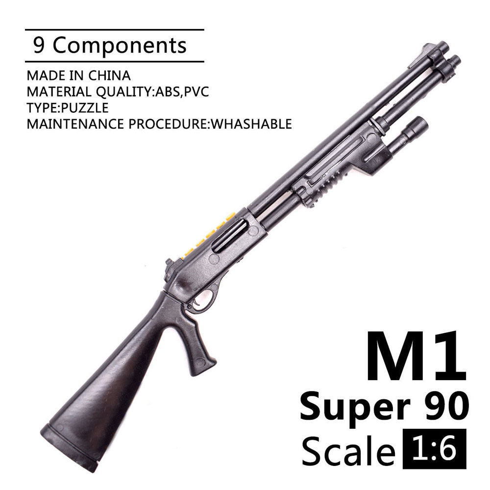 1 6 1 6 Scale 12 inch Action Figures Accessory Benelli M1 Super 90 Soldier Parts Model Guns Use For 1 100 MG Bandai Gundam Gift in Toy Guns from Toys Hobbies