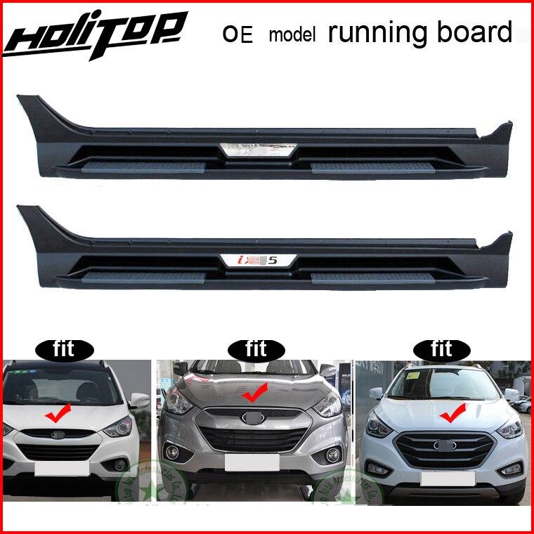 OE modèle marchepieds côté étape nerf bar pour Hyundai IX35 (Tucson IX), 2009-2016 an, vente en gros d'usine, grande remise!