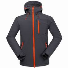 2016 Autumn winter men's outdoor sports compound soft shell jacket coat men outdoor camping hiking soft shell jacket coat