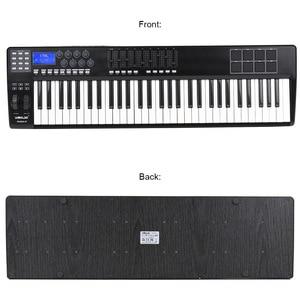 Image 2 - WORLDE taşınabilir _ _ _ _ _ _ _ _ _ _ _ _ _ _ _ _ _ _ _ _ anahtar MIDI klavye MIDI denetleyici 8 RGB renkli arkadan aydınlatmalı tetik pedleri ile USB kablosu piyano klavyesi Synthesi