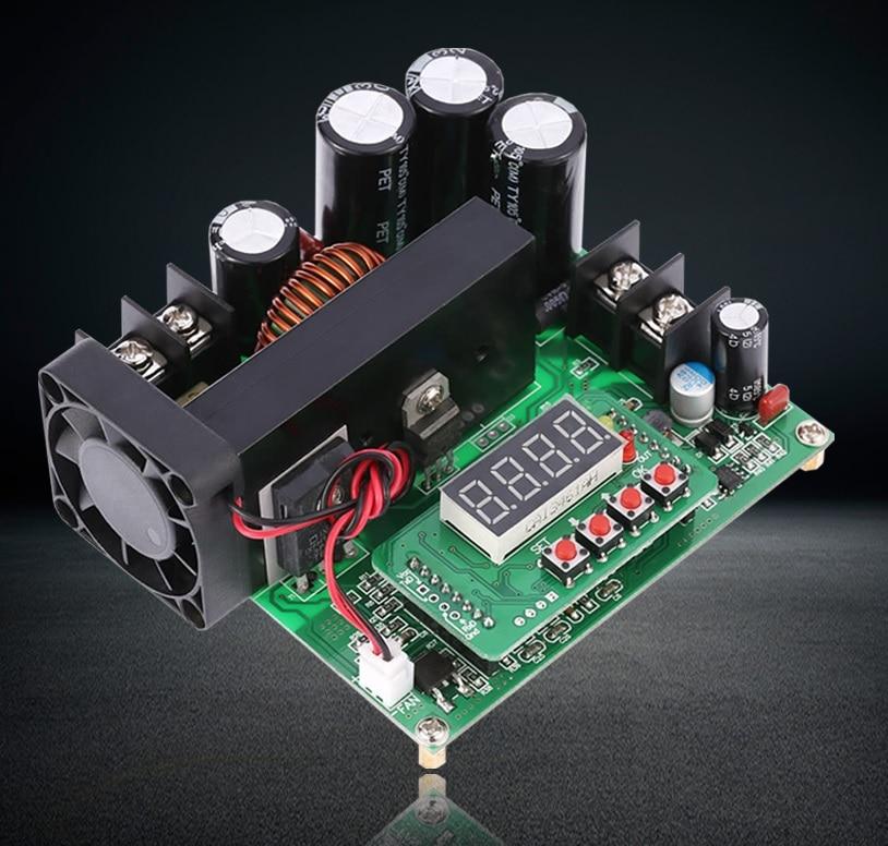 BST900W 8-60V to 10-120V DC Converter High Precise LED Control Boost Converter DIY Voltage Transformer Module Regulator