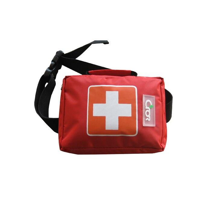 Kits de premiers secours portatifs de secours de paquet d'urgence de sécurité pour des opérations extérieures de champ 180mm * 55mm * 135mm