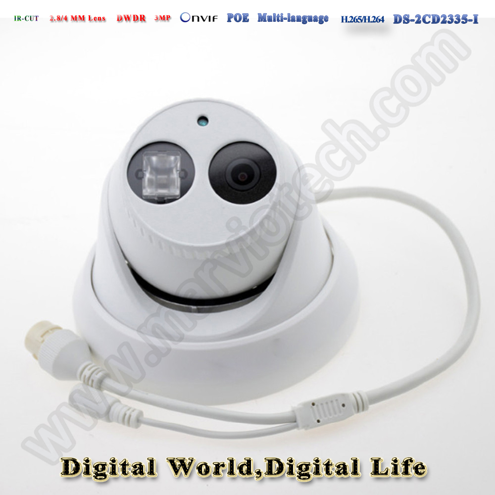 ds-2cd2335-i 3MP hikvision ip camera poe 1080P ip cameras outdoor waterproof IP66 security network Video Surveilance camera cctv cd диск fleetwood mac rumours 2 cd