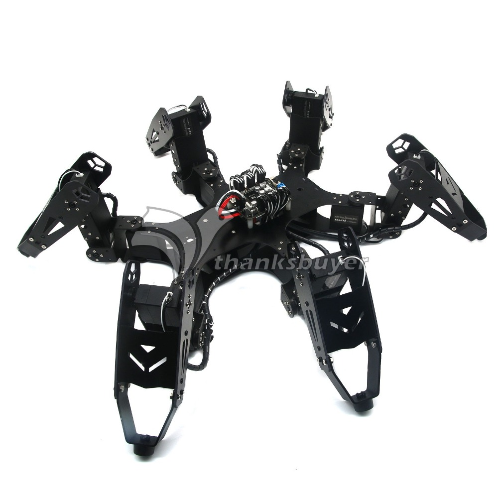 146afe7a9f30 Robo-Soul CR-6 Hexapod Robtics Six-legged 18DOF Spider Robot Kit with 18pcs  LDX-218 Digital Servos