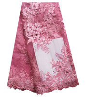 Baby Pink Tulle Lace Fabric With Big Stones Gold African Lace Fabric High Quality Nigerian French